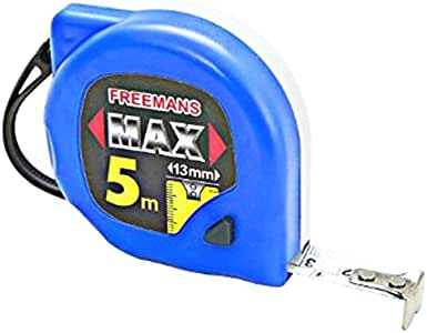 FREEMANS MEASURING TAPE MAX 5 METER 13 mm PAUSE + LOCK SET OF 10 PIECES