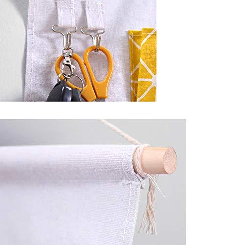 Qinlee Multifunktional H/ängeorganizer Hanging Storage Bag Wandbehang Aufbewahrungstasche Home Dekor f/ür Badezimmer Schlafzimmer