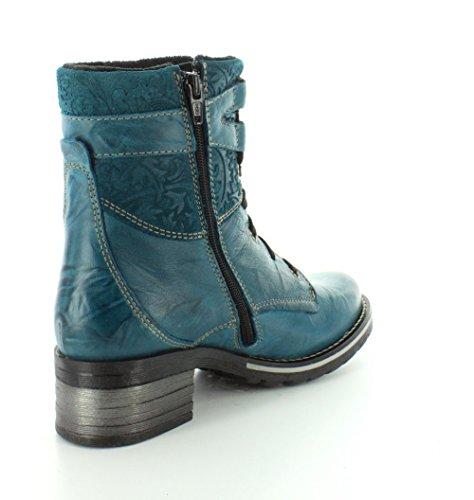 Boot Print Women's Kara 41M Teal EU Dromedaris Top UEqITxwU