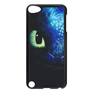 HQYDIY Customised toothless dragon Plastic Case, Personalised toothless dragon Hard Cell Phone Case for Ipod Touch 5