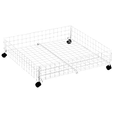 Whitmor 6023-304-SW  Rolling Underbed Cart, White