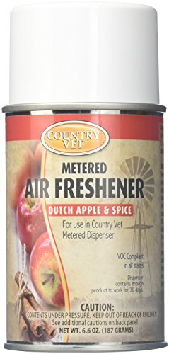 Country Vet Dutch Apple & Spice Air Freshener Refill, 6.6 oz ()