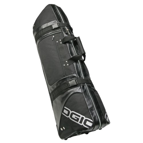 Ogio Straight Jacket Golf Travel Bag, Black, Large, Outdoor Stuffs