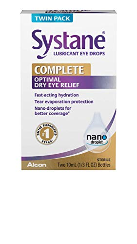Systane Complete Lubricant Eye Drops, 2x10mL TWIN