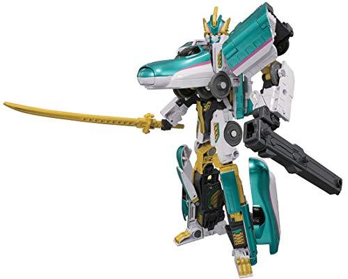 [해외]플라스틱 레일 신칸센 변형 로봇 씬 칼륨 선택 DXS101 씬 칼륨 선택 E5 야 MkII / Plarail Shinkansen Deformation Robo Shincarion DXS101 Shincarion E5 Hayabusa MkII