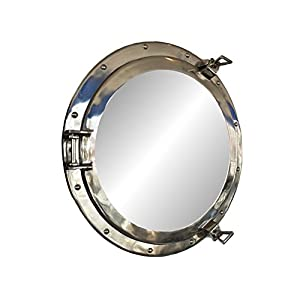 41MeoyBCdHL._SS300_ 100+ Porthole Themed Mirrors For Nautical Homes For 2020