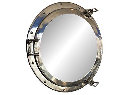 """Deluxe Class Chrome Porthole Mirror 20"""" - Chrome Porthole Mirror"""