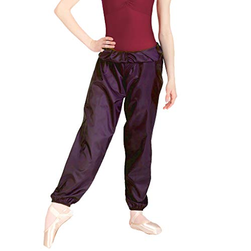 Body Wrappers Girl's Ripstop Pants (Black, 8-10) - 071 - Girls Dance Pants