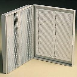Polypropylene Microscope Slide Box Holds 100 Slides (1 ea.)
