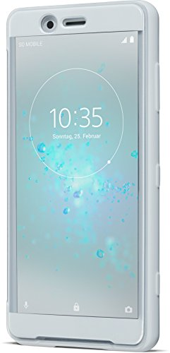 Sony Official Genuine Xperia XZ2 Compact SCTH50 Style Cover Touch Case - Grey