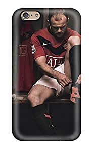 6 Scratch-proof Protection Case Cover For Iphone/ Hot Wayne Rooney Using Shoes Phone Case