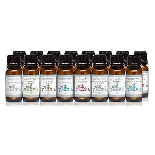 Vacation State of Mind - Set of 16 Premium Fragrance Oils -
