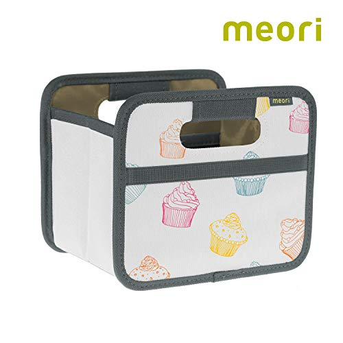 meori Foldable Mini Box 1 Pack Colorful Cupcakes