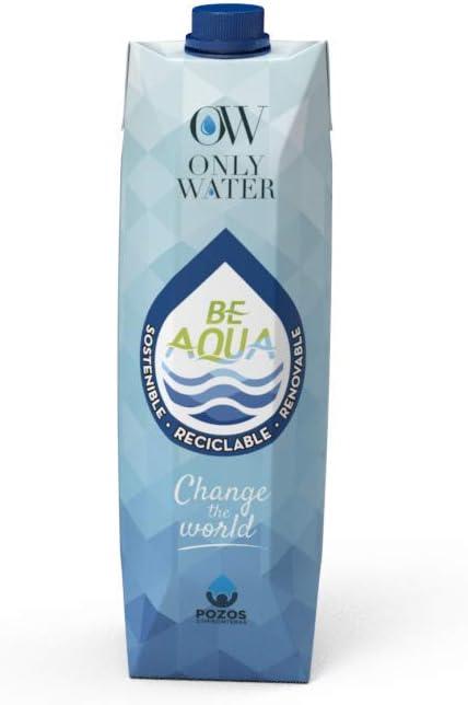 Agua en cartón Only Water 1000 ml - Caja 10 unds: Amazon.es ...