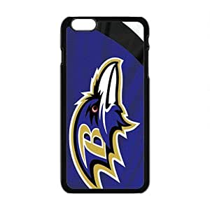 LJF phone case Baltimore Ravens Fashion Comstom Plastic case cover For Iphone 6 Plus