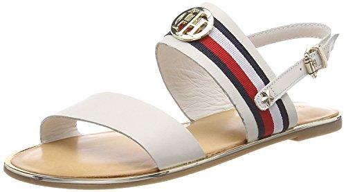 de Ribbon Hilfiger Sandalias Corporate Flat Sandal Tal Tommy 1EYdqCwE