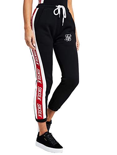 0694 Silk Sik Jogger Mujer Black Ssw nIn6qwdRa
