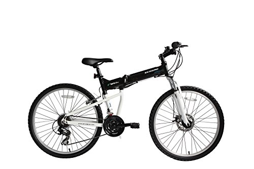 🥇 Bicicleta Mtb Plegable Ecosmo 26Af18Bl con Ruedas de 26\»
