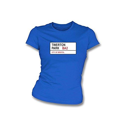 PunkFootball Das Ablesen halten das Glauben-T-Shirt, Farbe- Königsblau