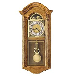 Howard Miller Fenston Golden Oak Wall Clock