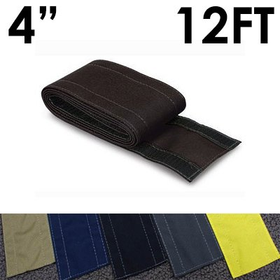 4 safcord carpet cord cover length 12ft color black flyers online. Black Bedroom Furniture Sets. Home Design Ideas