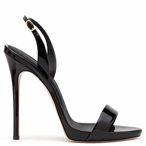 Taille Mme Sandals Chaussures Haute À À High Imperméable MétalLarge Talons De TalonsQIAOQI LIANGXIE Hauts Mariage Super De l'eau Noir Mariée Platform Heels en EHd6wF
