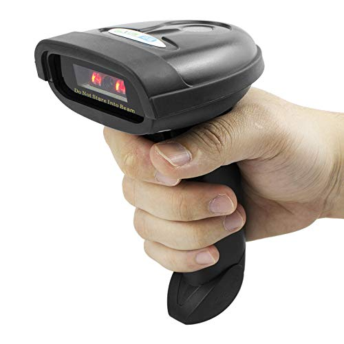 NETUM Bluetooth CCD Barcode Scanner Wireless Barcode Reader - Import It All