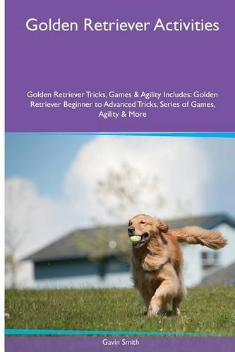 Golden Retriever  Activities Golden Retriever Tricks, Games & Agility. Includes: Golden Retriever Beginner to Advanced Tricks, Series of Games, Agility and More