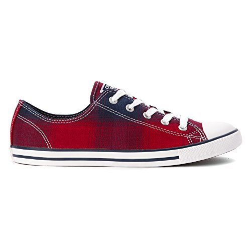 Converse Chuck Taylor Dainty Ox Fashion Sneaker Shoe - Chili Paste - Womens - 10