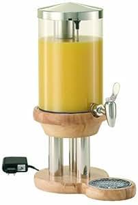 Jarra de zumo FRILICH EXTRA 5 litros rústico - madera maciza, modelo de acero inoxidable