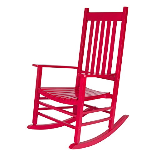 Wholesale Rocking Chairs - Shine Company 4332CP Vermont Rocking Chair, Chili Pepper
