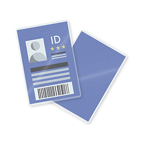 TruLam Laminating Pouches - ID Badge Size - 2-9/16-Inch by 3-3/4-Inch - 10 Mil Thickness - 500 Per Box - Compatible with Most Pouch Laminating Machines