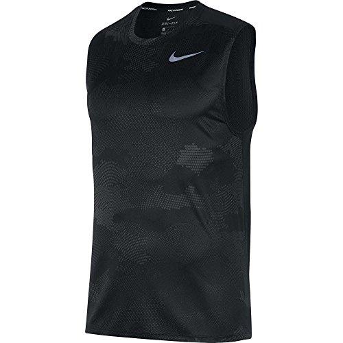 城ガロンに渡って(ナイキ) Nike メンズ ランニング?ウォーキング トップス Nike Breathe Printed Running Tank Top [並行輸入品]