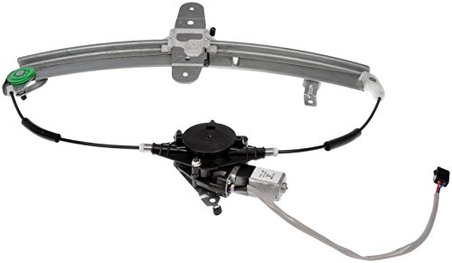 (Dorman 741-688 Ford Lincoln Town Car Rear Driver Side Window Regulator with Motor)