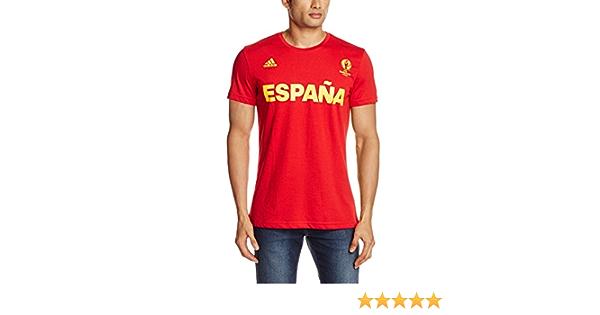adidas Selección de España - Camiseta Oficial Hombre: Amazon.es: Deportes y aire libre