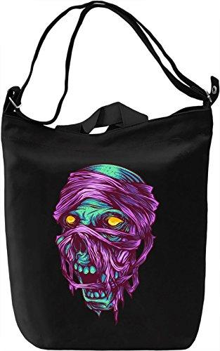Mummy head Borsa Giornaliera Canvas Canvas Day Bag| 100% Premium Cotton Canvas| DTG Printing|