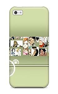 New Style 7671083K85602217 Unique Design Iphone 5c Durable Tpu Case Cover Bleach
