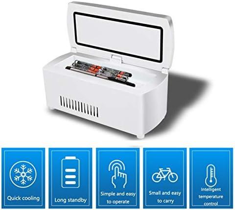 車、旅行、家庭用ミニ医学冷蔵庫とインスリンクーラー - 薬のためのポータブルカー冷凍ケース/スモールトラベルボックス
