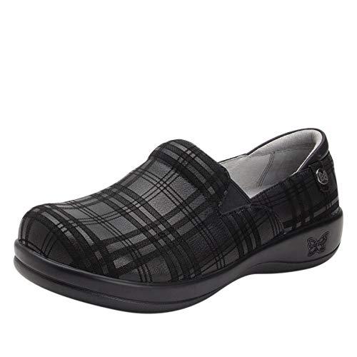 Womens Casual Plaid Shoes - Alegria Keli Womens Professional Shoe Plaid to Meet You 14 M US