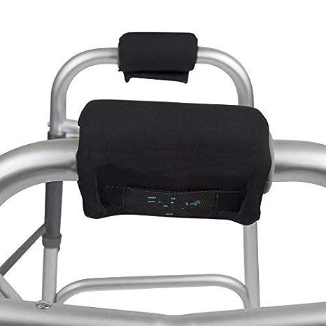 Utility - Juego de 2 almohadillas antideslizantes para reposabrazos de silla de ruedas (HZC123)