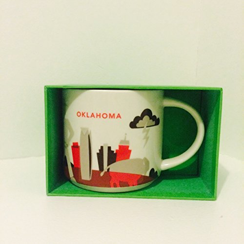 Starbucks Oklahoma Mug {NEW} You Are Here Collection (Coffee Mug Oklahoma)