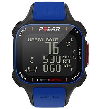 Polar RC3 GPS Pulsómetro, Unisex Adulto, Azul