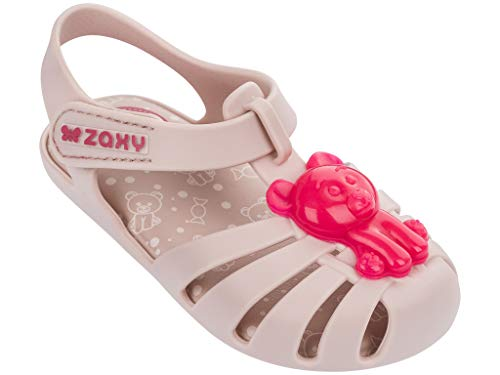 Zaxy Gummy Baby Sandals, Light Pink (8 US)