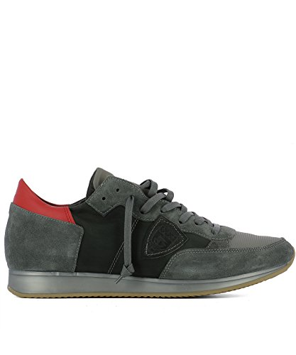 TRLUWZ25 Cuir Homme Model Baskets Philippe Gris EgP4wxWq