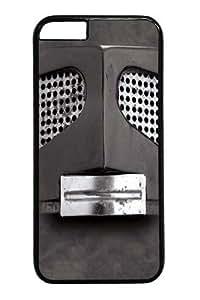 Big Face Gray Robot Custom Case For Samsung Note 2 Cover Polycarbonate Black