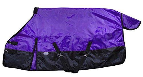 Derby Originals Mini & Pony 600D Turnout Winter Blanket, Purple, 54'' by Derby Originals (Image #1)