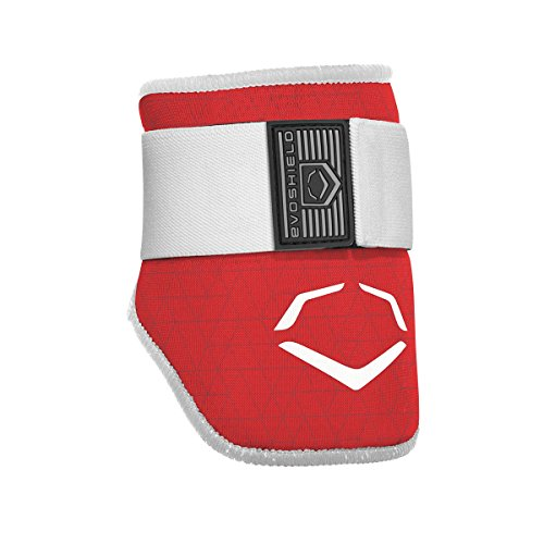 EvoShield EvoCharge Batter's Elbow Guard - Adult, Red