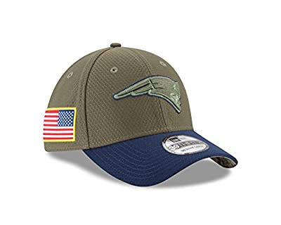 New Era 39Thirty Hat New England Patriots NFL On-field Salute to Service Cap