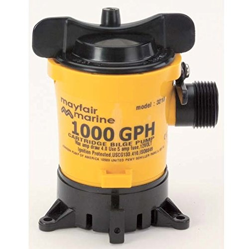 Johnson Pumps Of America 32102 Marine 1000 GPH Cartridge Style Bilge Pump