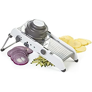 Progressive International PL8 Mandoline Slicer, White